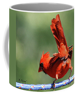 Cardinal-a Picture Is Worth A Thousand Words Coffee Mug