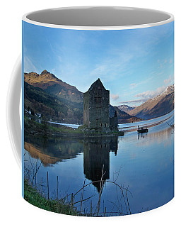 Coffee Mug featuring the photograph Carrick Castle by Lynn Bolt