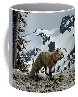 Cascade Red Fox 3 Coffee Mug by Peter Mooyman