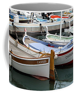 Coffee Mug featuring the photograph Cassis Harbor by Carla Parris