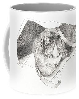 Cat In A Bag Coffee Mug