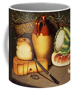 Cat Mouse Bacon And Cheese Coffee Mug