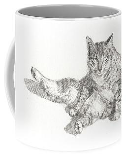 Cat Sitting Coffee Mug