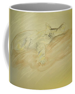 Cat Sketch Coffee Mug