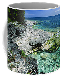 Cave Point Vista Coffee Mug