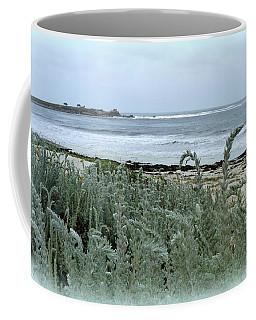Celadon Seascape Coffee Mug