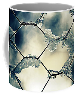 Chainlink Fence Coffee Mug