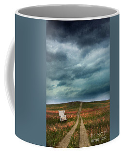 Chair By Country Road Coffee Mug