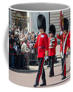 Changing Of The Guard At Buckingham Palace Coffee Mug