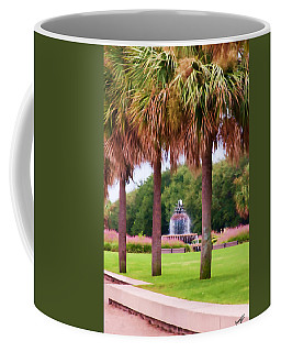 Charleston Pineapple Fountain Coffee Mug