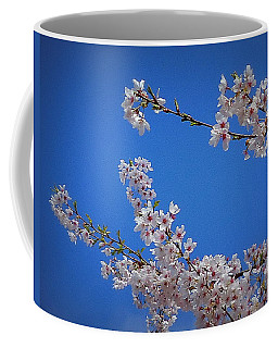 Cherry Blossom Sky Coffee Mug by Peter Mooyman
