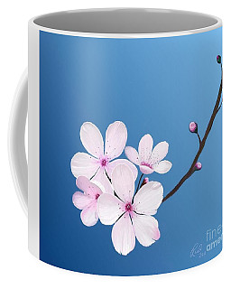 Cherry Blossoms Coffee Mug by Rand Herron