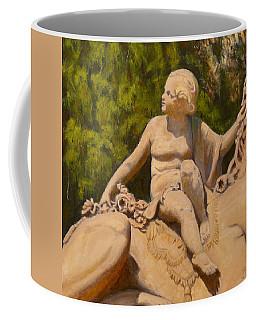 Cherub Monmouth University Coffee Mug