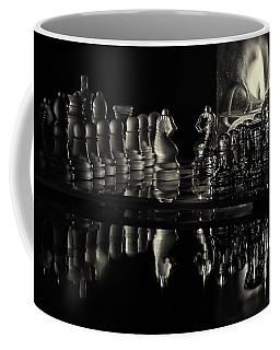 Chess By Candlelight Coffee Mug