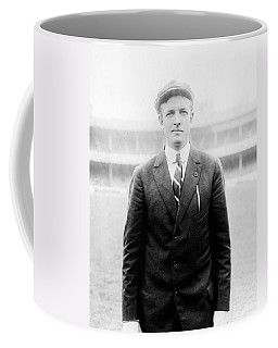Coffee Mug featuring the photograph Christy Mathewson - Major League Baseball Player by International  Images