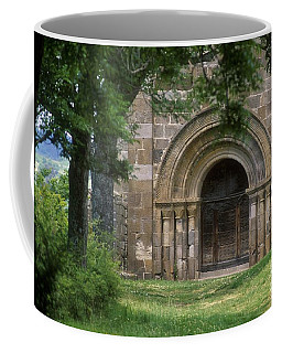 Church Of Bredons.cantal. France Coffee Mug