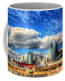 Cincinnati Skyline 2012 - 2 Coffee Mug