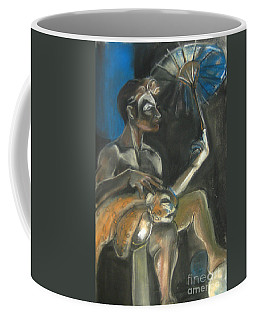 Coffee Mug featuring the drawing Circus Man by Gabrielle Wilson-Sealy