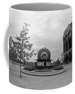 Citi Field In Black And White Coffee Mug