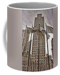 City Glitz Coffee Mug by Anne Rodkin