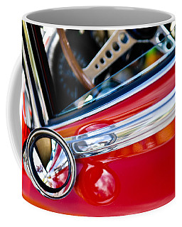 Classic Red Car Artwork Coffee Mug