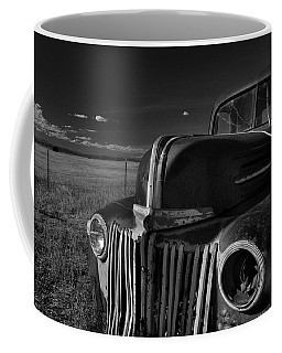 Coffee Mug featuring the photograph Classic Rust by Ron Cline