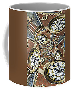 Coffee Mug featuring the photograph Clocked by Clare Bambers