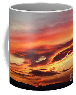 Cloud Face Coffee Mug