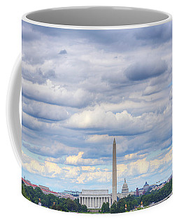 Clouds Over Washington Dc Coffee Mug