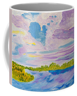 Clouds' Reflections Coffee Mug by Meryl Goudey