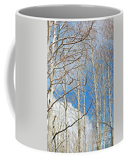 Cloudy Aspen Sky Coffee Mug
