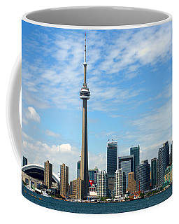Coffee Mug featuring the photograph Cn Tower by Jeff Ross