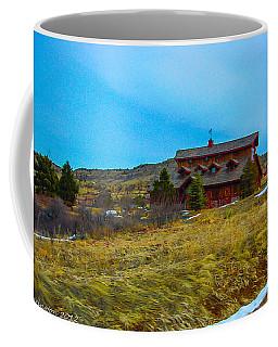 Coffee Mug featuring the photograph Co. Farm by Shannon Harrington