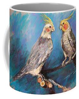 Coctaiel Parrots Coffee Mug