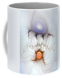 Coffee Mug featuring the digital art Coexistence by Casey Kotas