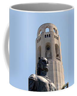 Coit Tower Statue Columbus Coffee Mug