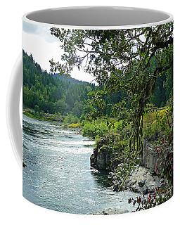 Colliding Rivers Coffee Mug