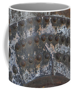 Coffee Mug featuring the photograph Color Of Steel 7a by Fran Riley