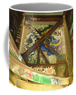 Coffee Mug featuring the photograph Color Of Steel 8 by Fran Riley