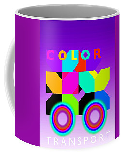 Color Wheels Coffee Mug