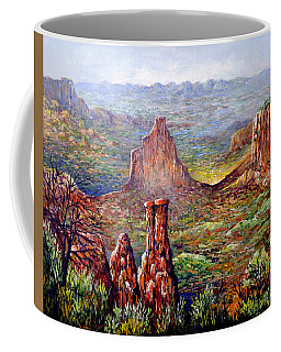 Colorado National Monument Coffee Mug by Lou Ann Bagnall