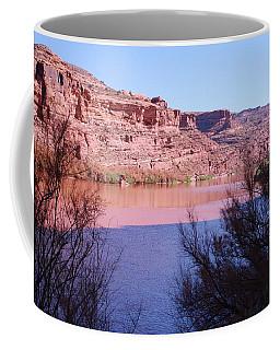 Colorado River After Rain - Utah Coffee Mug