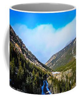 Coffee Mug featuring the photograph Colorado Road by Shannon Harrington
