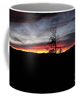 Coffee Mug featuring the photograph Colorado Sunset by Angelique Olin