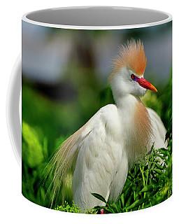 Colorful Cattle Egret Coffee Mug