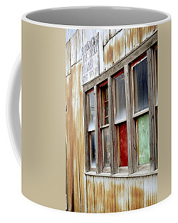 Coffee Mug featuring the photograph Colorful Windows by Fran Riley