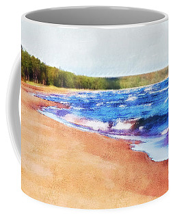 Coffee Mug featuring the photograph Colors Of Water by Phil Perkins