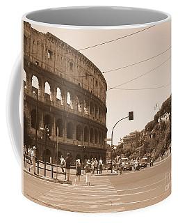 Colosseum In Sepia Coffee Mug
