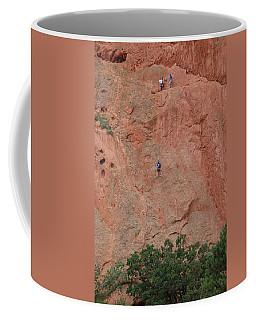 Coming Down The Mountain Coffee Mug by Randy J Heath