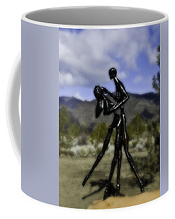 Coffee Mug featuring the photograph Coming Home  by Larry Depee